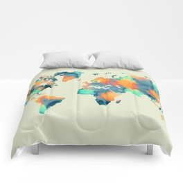 map world map 57 Comforters