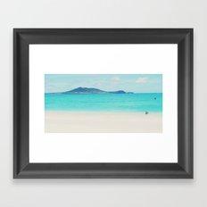 Kailua beach- Oahu Framed Art Print