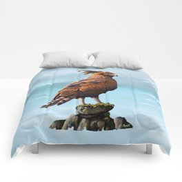 Long Crested Eagle Comforters