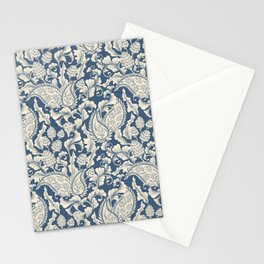 Vintage & Shabby Chic - William Morris Classic Blue Antique Floral Stationery Cards