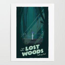 Lost Woods (Legend of Zelda) Travel Poster Poster