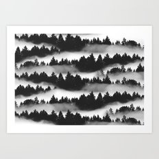 Don't Get Lost in Mist Art Print