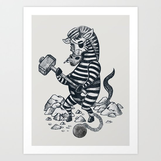 Natures Prisoner Art Print