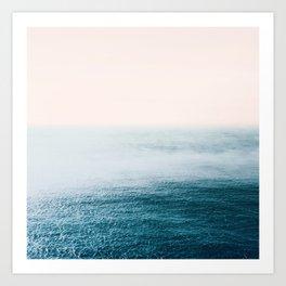 Ocean Fog Art Print