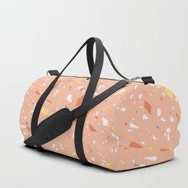 Terrazzo pattern 3 Duffle Bag