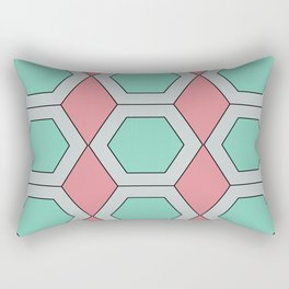 Pastel Geo Rectangular Pillow