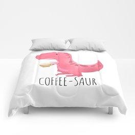 Coffee-saur | Pink Comforters