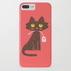 Fitz - Hungry hungry cat (and unfortunate mouse) Slim Case iPhone 7 Plus