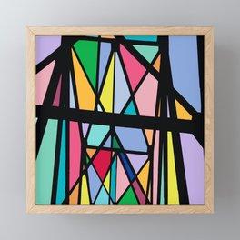 Stain Glass I Framed Mini Art Print