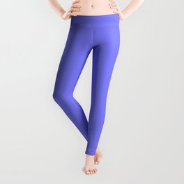 Periwinkle Solid Color Leggings