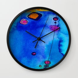 Magical Thinking No. 2C by Kathy Morton Stanion Wall Clock