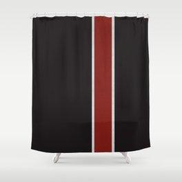 Mass Pattern Shower Curtain