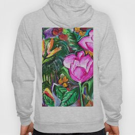 Etude with Tropical Flowers Hoody