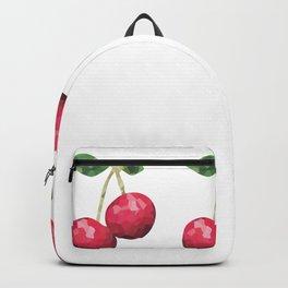 cherries 1x3 pattern, fill, repeating, tiled | elegant Backpack