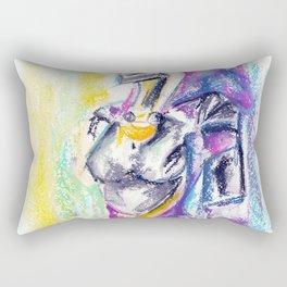 Tali: New beginning... Thank you Shepard Rectangular Pillow