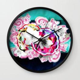 Cerejeira (Cherry - Prunus cerasus) Wall Clock