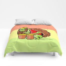 rasta marihuana turtle Comforters