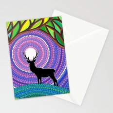 A Silent Visitor Stationery Cards
