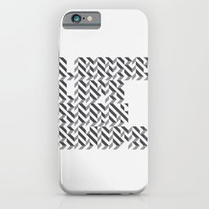 loose lips sink ships dazzle typography Slim Case iPhone 6s