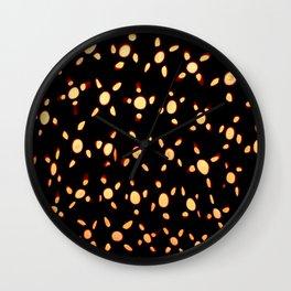 Pattern #5 - Murano Glass Murrines  Wall Clock