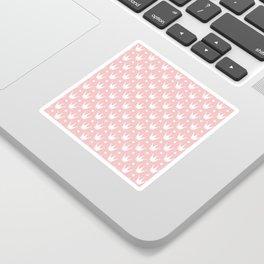 Cute Princess Tiara Pattern Sticker