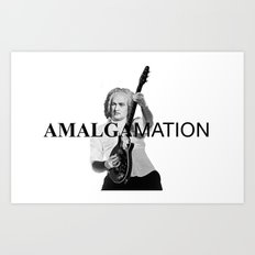 Amalgamation #3 Art Print