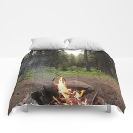 Backpacking Camp Fire Comforters