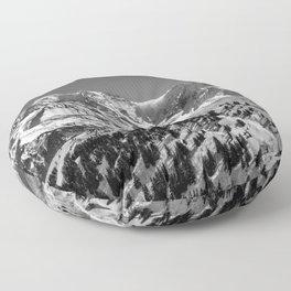 Mt. Blanc (Mono) Floor Pillow