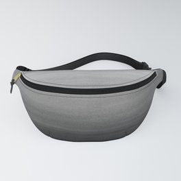 Touching Black Gray White Watercolor Abstract #1 #painting #decor #art #society6 Fanny Pack