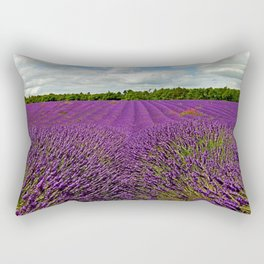 Lavender Landscape (Version 1)  Rectangular Pillow