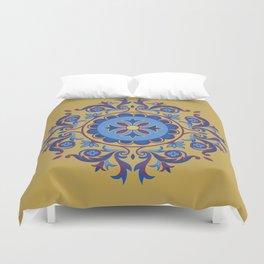 Ottoman Floral Art Duvet Cover