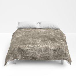 Aluminum Oil Painting Color Accent Comforters