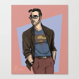 Hipster Supes Canvas Print