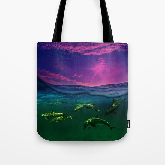 Dreaming Of Dolphins Tote Bag