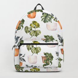 Potted Plants - GREEN Home  Backpack