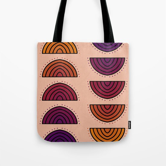 Flowers of Sunset Tote Bag