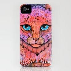 SUNSET CAT iPhone (4, 4s) Slim Case