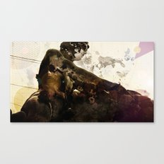 Black idol Canvas Print