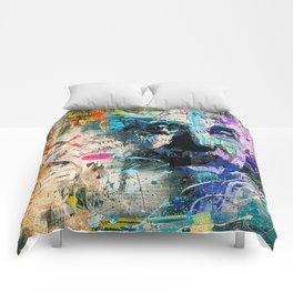 Artistic OI  - Albert Einstein II Comforters