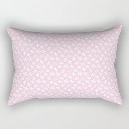 Hana Thyme - Pink Rectangular Pillow