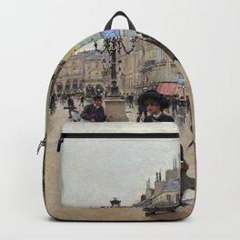 Paris, rue du Havre 1882 Backpack