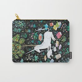 The Unicorn is Reading Carry-All Pouch