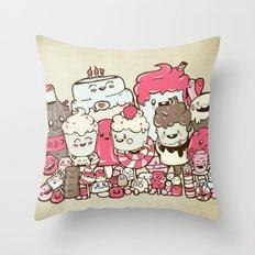 Sugar Overload Throw Pillow