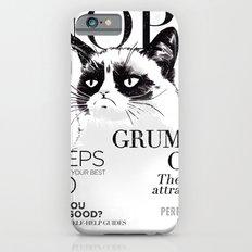 Grumpy the cat iPhone 6s Slim Case
