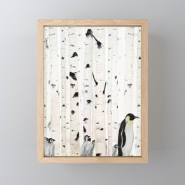 lost in wood Framed Mini Art Print