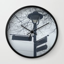 Maplewood - Sign post Wall Clock