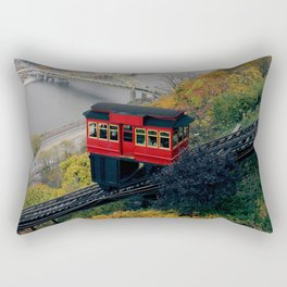 An Autumn Day on the Duquesne Incline in Pittsburgh, Pennsylvania Rectangular Pillow