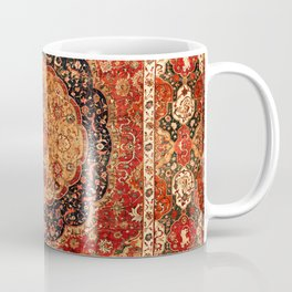 Seley 16th Century Antique Persian Carpet Print Coffee Mug