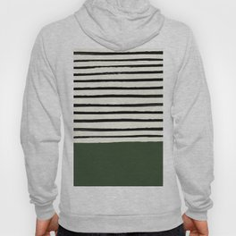 Forest Green x Stripes Hoody