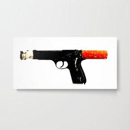 smoking gun Metal Print